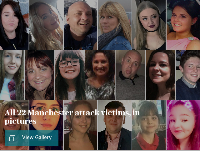All 22 victims of the Manchester suicide bomb attack named, in pictures