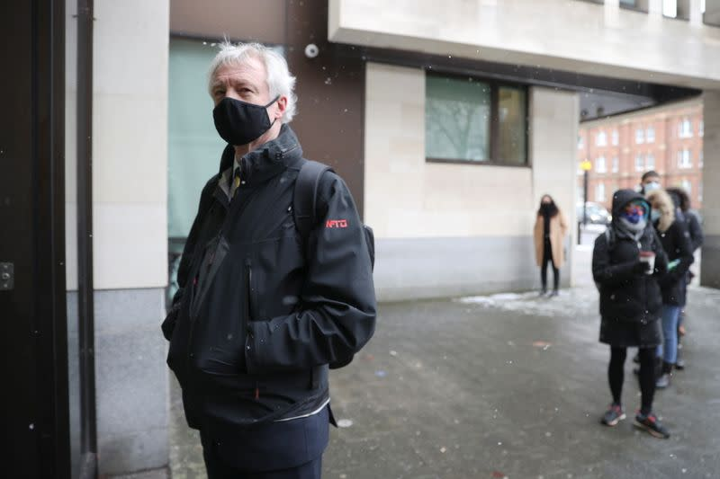 Extradition hearing of British entrepreneur Lynch at Westminster Magistrates Court, in London