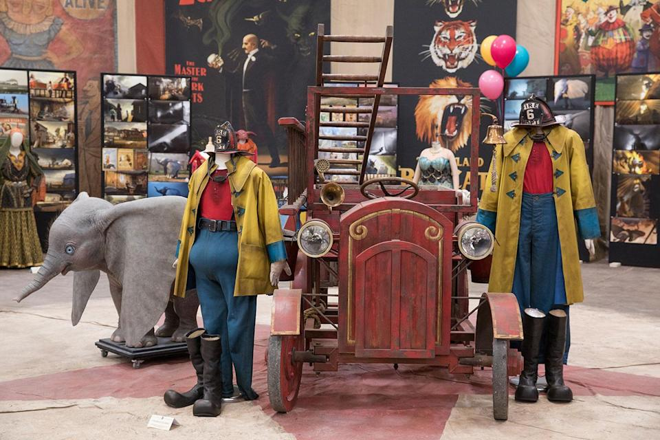 <p>The clown's firefighter act has been lifted wholesale from the 1941 cartoon, and recreated by Tim Burton. (Disney) </p>