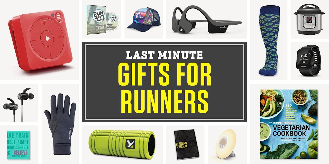 """<p>With fall training season in full swing, it's easy to let buying gifts slip your mind. Don't fret if you've realized you forgot to get a birthday gift for your training partner, or you're just trying to prepare for the holiday season. Shopping for your running friends and family members is likely easier than you think. <br> <br>If you need a last-minute gift, the good news is that Amazon has free two-day shipping with <a href=""""https://www.amazon.com/amazonprime"""" target=""""_blank"""">Prime membership</a>, and you can sign up for a 30-day free trial if you don't already have one. Now all you need is some gift inspiration, and we have ideas for all budgets and kinds of runners.<br> <br>If you're still not finding the perfect present for someone you know, check out our other <a href=""""https://www.runnersworld.com/gift-guide/"""" target=""""_blank"""">gift guides</a> for runners.<br></p><ul></ul>"""