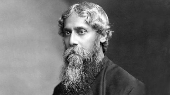 It was originally composed as 'Bharoto Bhagyo Bidhata' in Bengali by poet Rabindranath Tagore. The original composition of the song also had many Sanskrit words in it. It was later translated into Hindi-Urdu by Captain Abid Hasan Safrani, an Indian National Army Officer and titled as 'Subh Sukh Chain'. The melody to this song was given by Captain Ram Singh Thakur. There is also an English version done by Tagore itself, which is referred to as 'The Morning Song of India'.