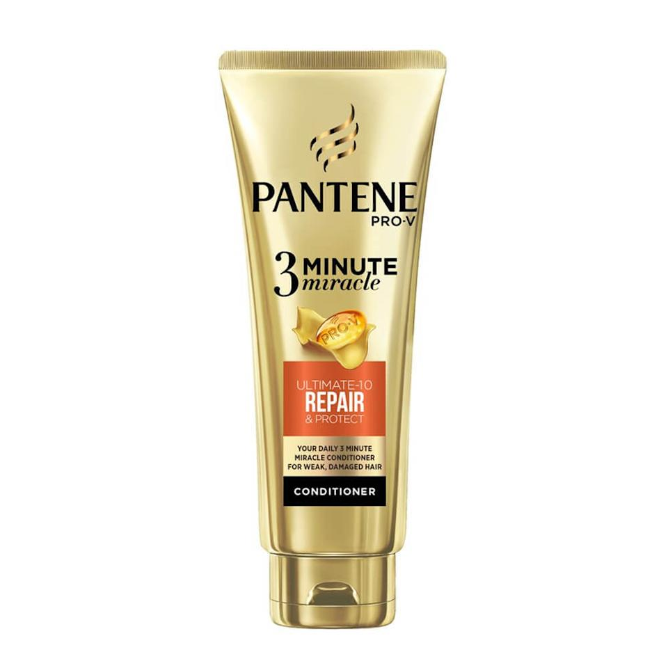 Pantene 3 Minute Miracle Conditioner Renew & Protect, $5.60