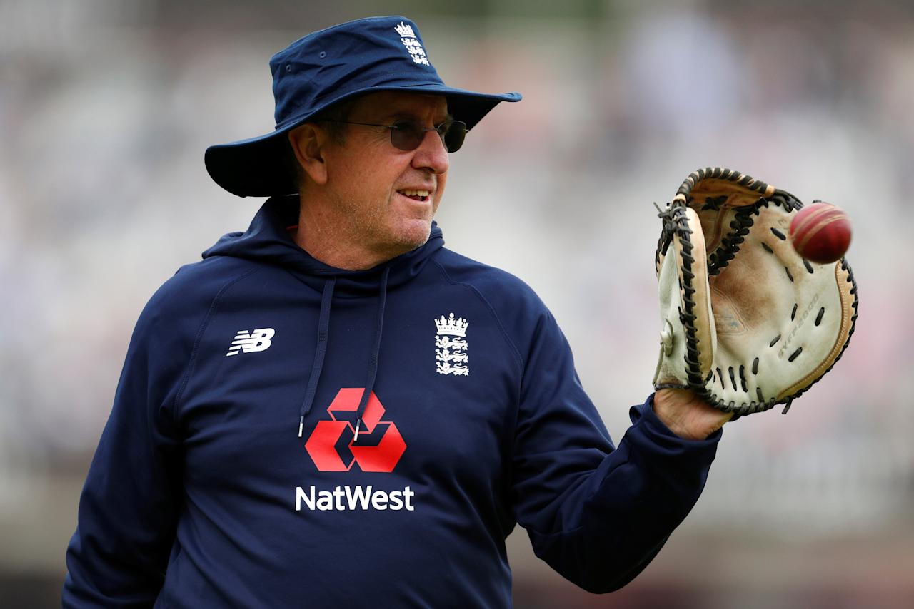 Cricket - England vs Pakistan - First Test - Lord's Cricket Ground, London, Britain - May 25, 2018   England head coach Trevor Bayliss before the start of play   Action Images via Reuters/John Sibley