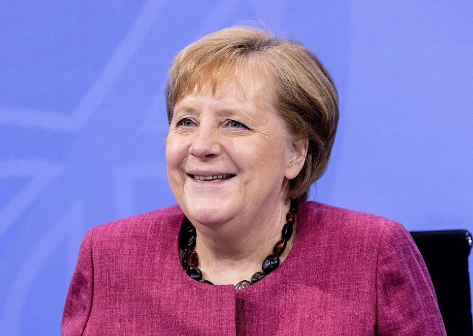 German Chancellor Angela Merkel got the highest approval ratings of any world leader in the Pew survey. Photo: EPA-EFE