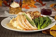 """<p>BRIO Italian Grille is offering a dine-in Thanksgiving menu featuring <a href=""""https://www.thedailymeal.com/cook/101-best-thanksgiving-recipes-gallery?referrer=yahoo&category=beauty_food&include_utm=1&utm_medium=referral&utm_source=yahoo&utm_campaign=feed"""" rel=""""nofollow noopener"""" target=""""_blank"""" data-ylk=""""slk:all of the turkey day essentials"""" class=""""link rapid-noclick-resp"""">all of the turkey day essentials</a>: turkey, stuffing, broccolini, mashed potatoes, orange cranberry sauce and pumpkin spice bread pudding for $28.99 per person.</p>"""