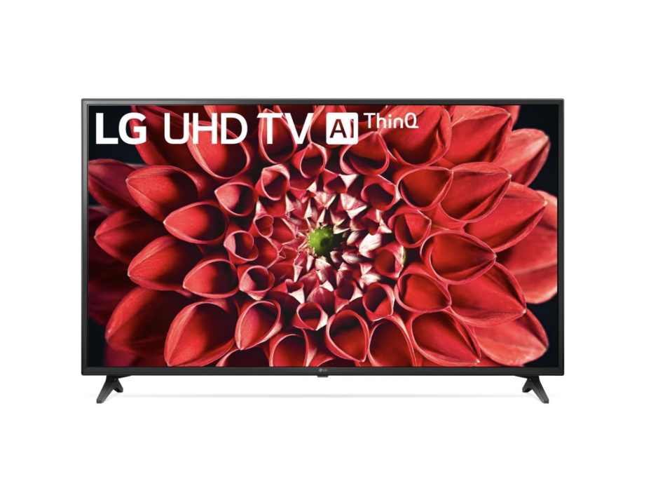 "LG 60"" 4K UHD HDR LED Smart TV, Walmart, $598 (originally $798)."