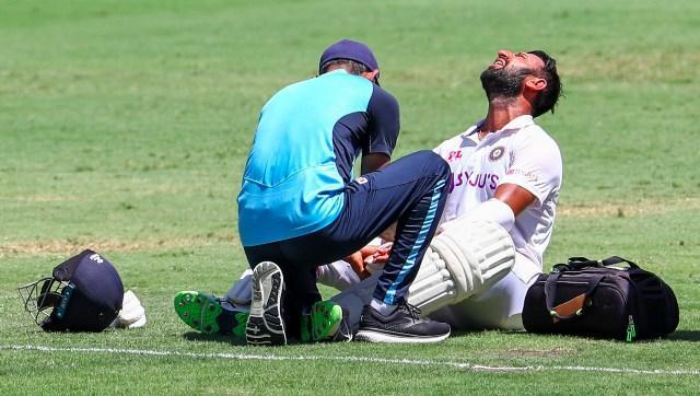 Cheteshwar Pujara battled his way through pain after receiving copping multiple blows to produce a gritty 54 on the final day.