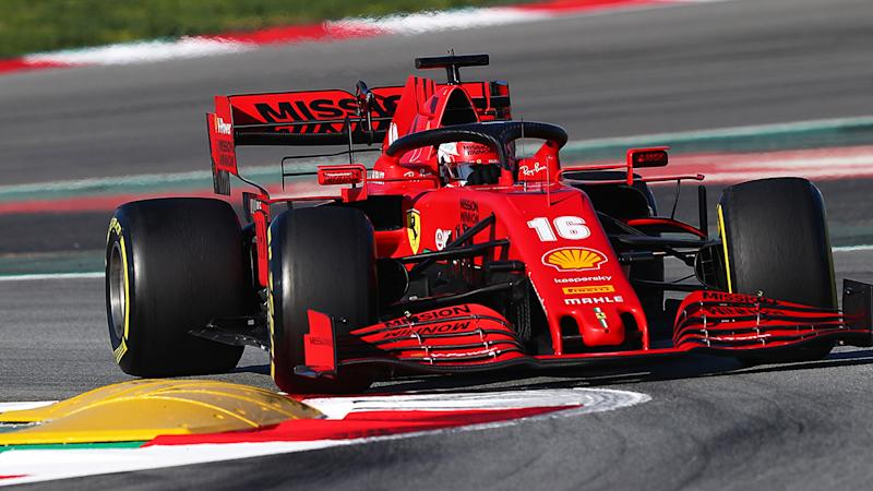 Ferrari's F1 entry, pictured with Charles Leclerc behind the wheel, could become entangled in the worldwide coronavirus crisis.