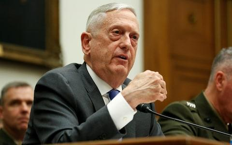 """Donald Trump considered launching a strike three times as big on Syria, potentially including hitting Russian air defence systems, but was dissuaded by James Mattis, his defence secretary. The Pentagon presented Mr Trump with three options for how to respond to the chemical attack by the Syrian regime in Douma on April 7, the Wall Street Journal reported. A first, and most cautious, option consisted of a limited strike on Syrian chemical weapons facilities, while a second targeted those plus military command posts. The third option had the aim of devastating Bashar al-Assad's military forces and could have targeted Syrian-based Russian air defence capabilities as part of that. Such a strike would have been three times the size of the military action that was eventually launched by the US, UK and France in the early hours of Saturday. Syria - The targets In all, 105 missiles were launched at Syria. During several days of intense planning meetings with his top national security advisers last week Mr Trump was said to have asked about hitting both Russian and Iranian targets if that was required to hurt Assad militarily, the Wall Street Journal reported. He and Nikki Haley, the US ambassador to the United Nations, were said to have been pushing for a more robust strike. But having laid out the three options Mr Mattis, according to the report, urged caution and suggested the third one could lead to an escalation by Russia or Iran. James Mattis, the US defence secretary, urged caution Credit: Reuters The strike that ultimately happened reportedly drew from the first two options that he had presented. That decision was being seen in Washington as confirmation of the elevated standing of Mr Mattis within the administration. Asked whether Mr Trump had been pushing for proposals that included hitting Russian and Iranian targets in Syria, Sarah Sanders, the White House press secretary, said """"a number of options"""" had been, and remained, on the table. She said: """"We're not going"""