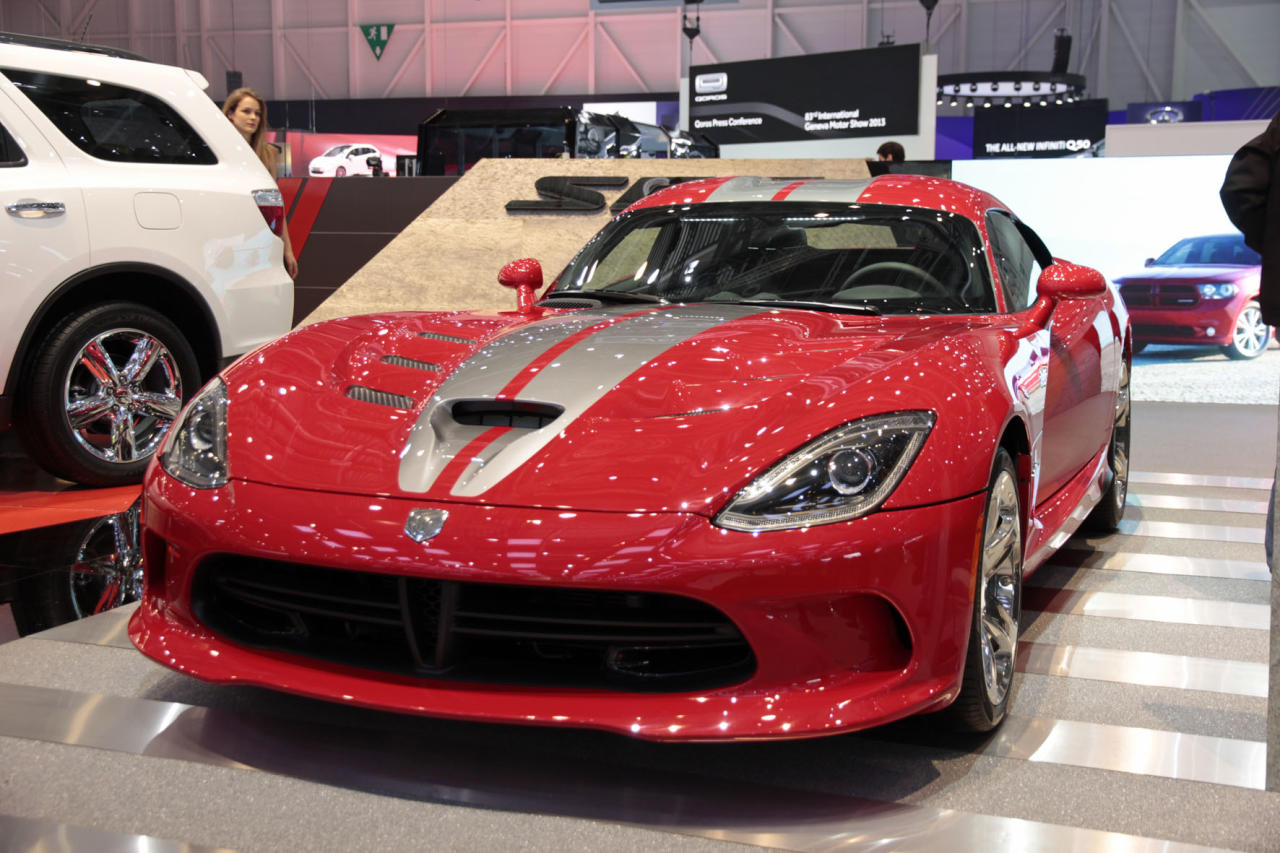 <strong>Dodge SRT Viper: </strong>Often remembered for its crudity and the size of its engine more than anything else, the SRT-10 (or Viper as it is often known outside of Europe) is back, but with a bit more sophistication on its side. (PA)