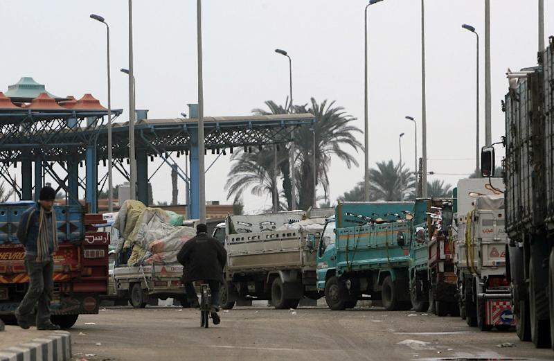 Egypt expects to export about $5 billion worth of goods over the next five years to fellow members of the Tripartite Free Trade Area (TFTA) (AFP Photo/Khaled Desouki)