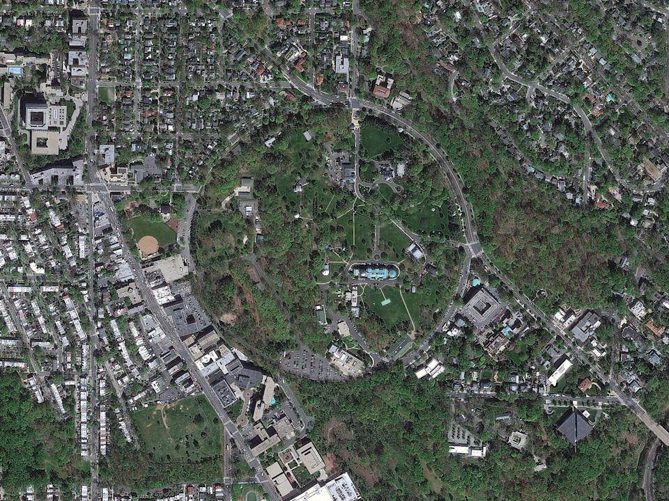 Aerial of the Naval Observatory