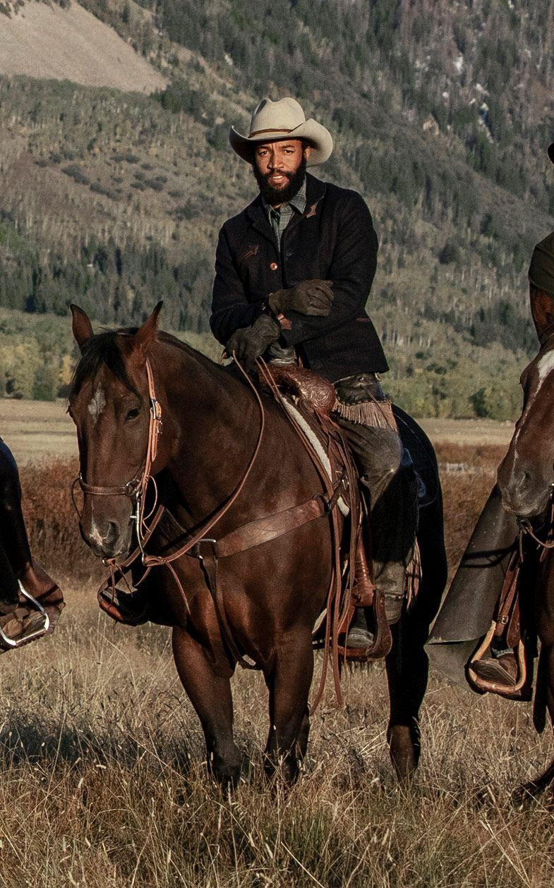 <p>Colby is a cowboy wrangler, but Richards is best known for his time on <em>Good Trouble</em> and <em>Good Luck Charlie</em>.</p>