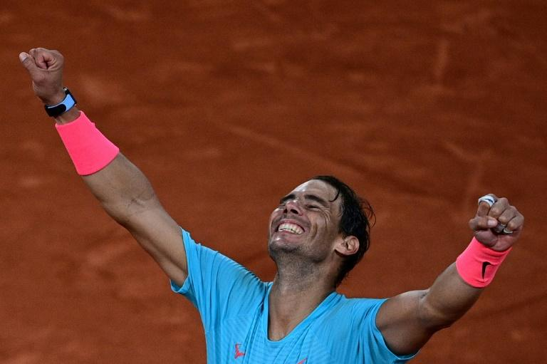 Nadal routs Djokovic for 13th French Open, record-equalling 20th Grand Slam