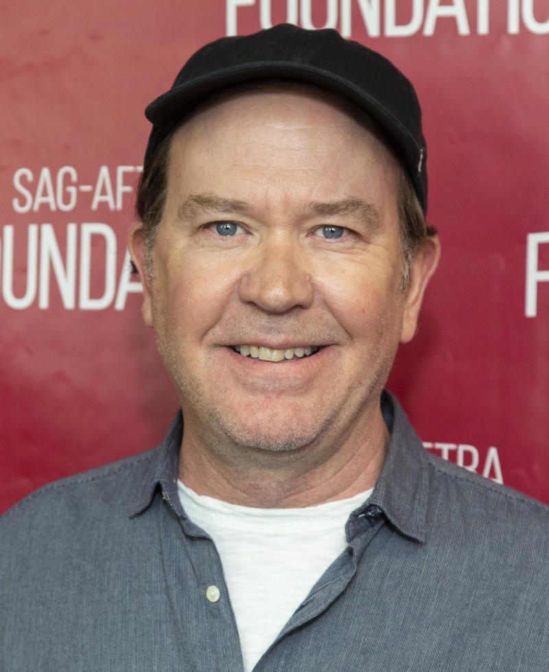 """LOS ANGELES, CALIFORNIA - MAY 22: Actor Timothy Hutton attends SAG-AFTRA Foundation Conversations with """"The Haunting Of Hill House"""" at SAG-AFTRA Foundation Screening Room on May 22, 2019 in Los Angeles, California. (Photo by Vincent Sandoval/Getty Images)"""