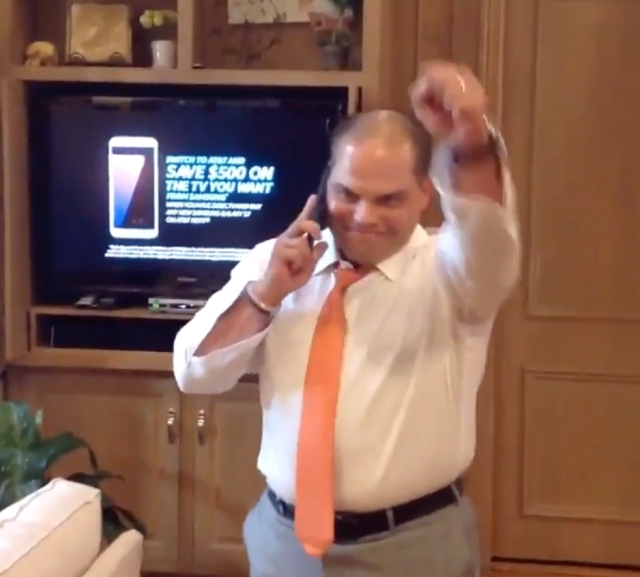 When Pudge found out he was first-ballot. (@Pudge_Rodriguez)