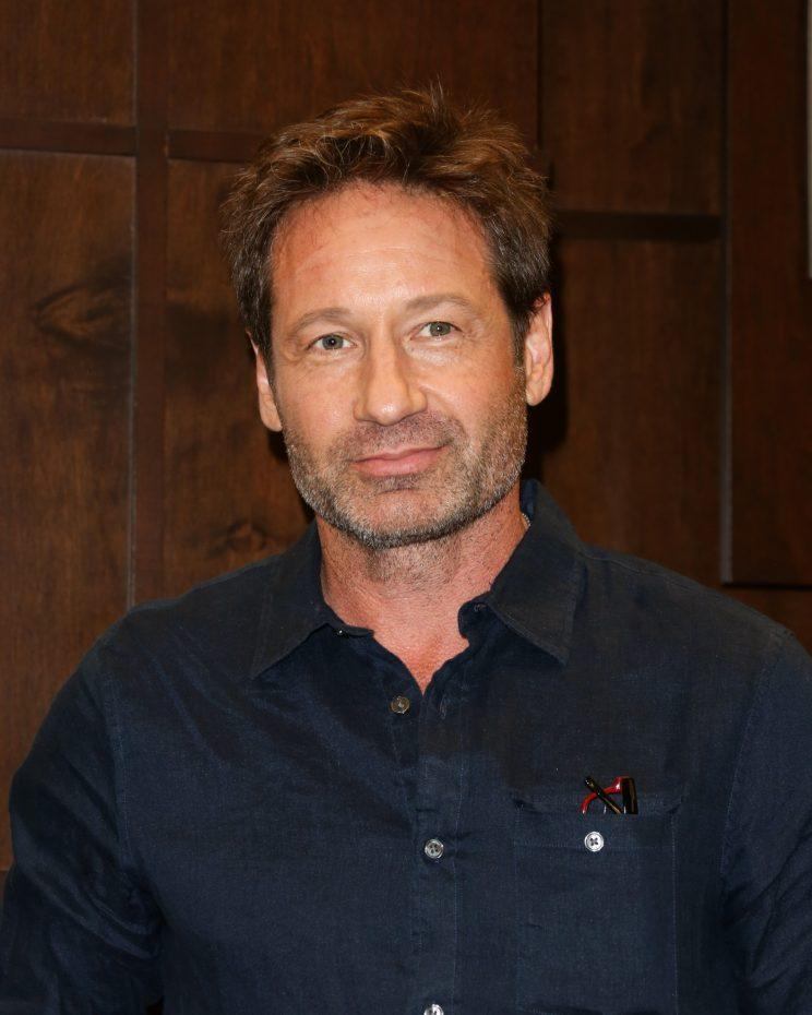 David Duchovny had something in common with Hank Moody. (Photo: Getty Images)