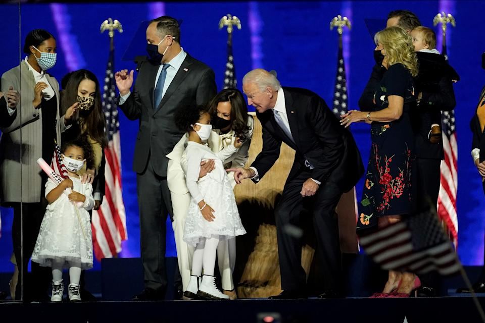 Who are the incoming first children?  (Getty Images)
