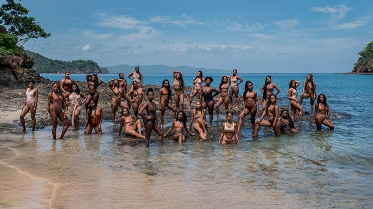 These Sorority Sisters Did A Melanin Illustrated Photo