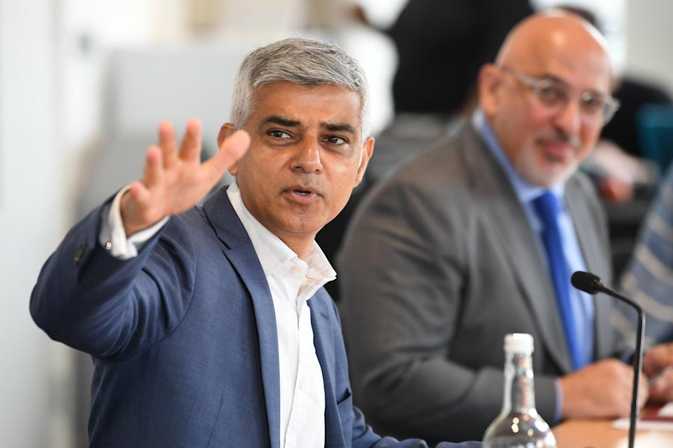 Two of three of Sadiq Khan's scrappage schemes were forced to end last year  (PA Wire)