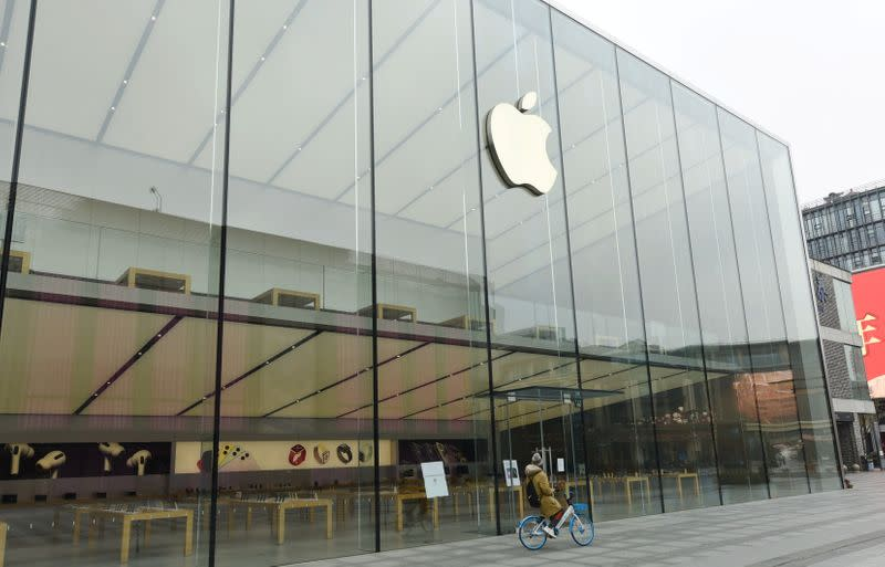 Apple to delay reopening of retail stores in China