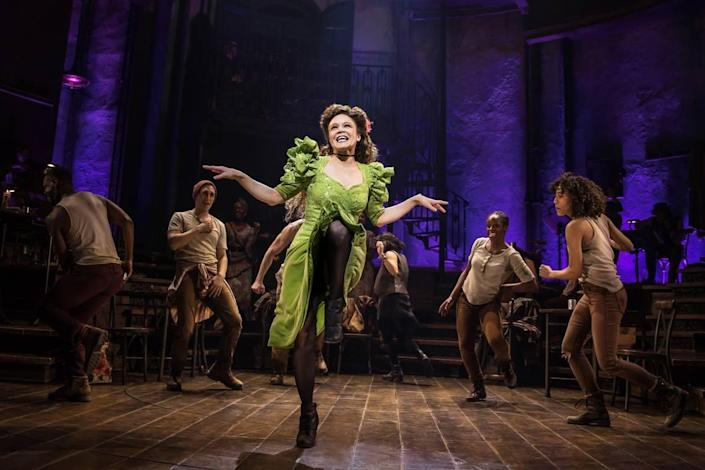 """The hit show """"Hadestown,"""" with Amber Gray shown in the original Broadway cast, was scheduled to kick off the PNC Broadway Lights series in Charlotte. But because of the coronavirus pandemic, it will now end the series next year."""