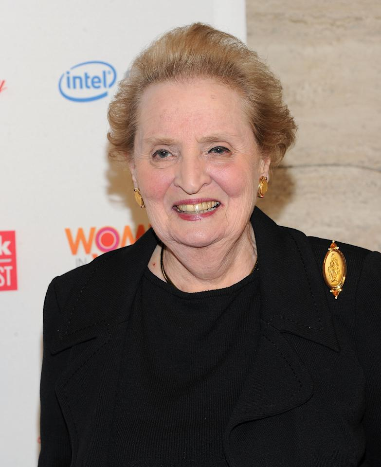 NEW YORK, NY - MARCH 08:  Madeleine Albright attends the 3rd Annual Women in the World Summit at David H. Koch Theater, Lincoln Center on March 8, 2012 in New York City.  (Photo by Jason Kempin/Getty Images)