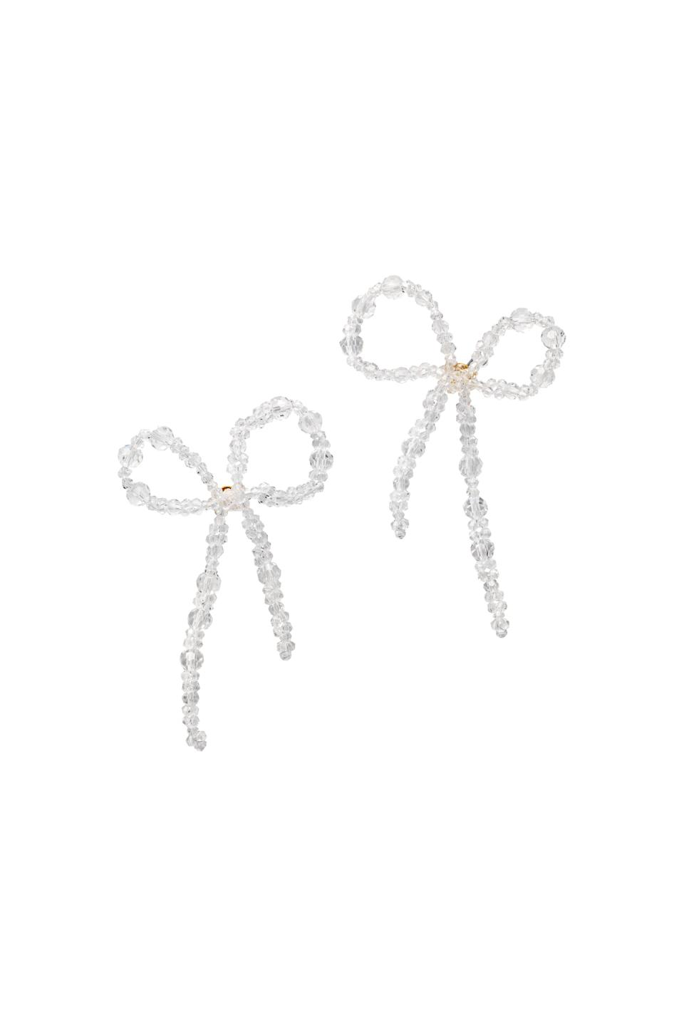 <p><span>Simone Rocha x H&amp;M Bow-Detail Earrings</span> ($35).</p>