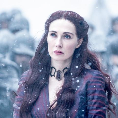 Melisandre has been on the hunt for the mythical Azor Ahai - Credit: HBO