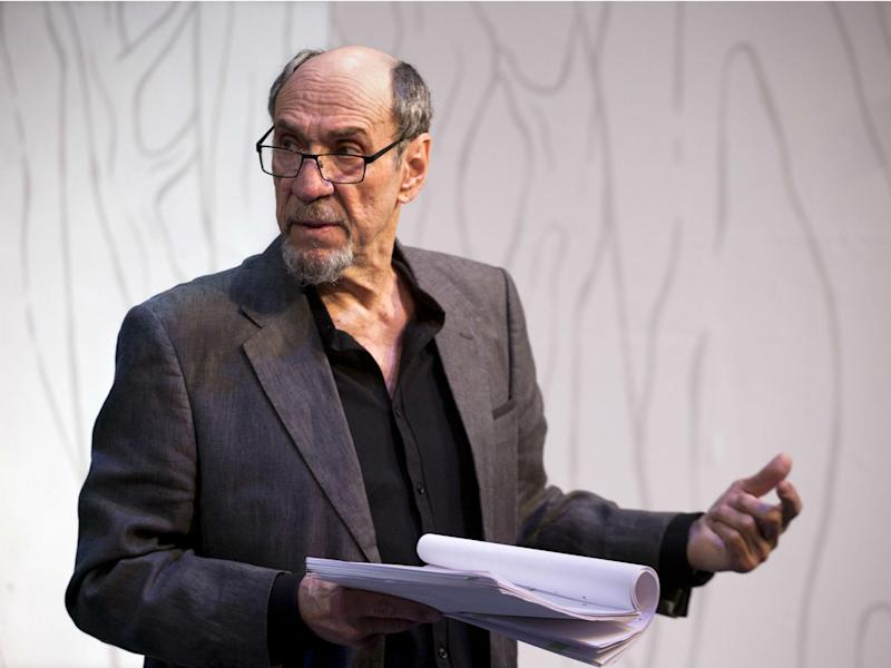 F Murray Abraham in 'The Mentor' at the Vaudeville Theatre: Simon Annaud