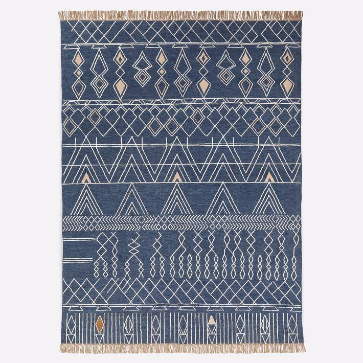 """<p><strong>West Elm </strong></p><p>westelm.com</p><p><a href=""""https://go.redirectingat.com?id=74968X1596630&url=https%3A%2F%2Fwww.westelm.com%2Fproducts%2Fsummit-indoor-outdoor-rug-t4383&sref=https%3A%2F%2Fwww.bestproducts.com%2Fhome%2Fg33012977%2Fwest-elm-summer-home-decor-sale%2F"""" rel=""""nofollow noopener"""" target=""""_blank"""" data-ylk=""""slk:Shop Now"""" class=""""link rapid-noclick-resp"""">Shop Now</a></p><p><del>$300—$900</del><strong><br>$225—$675</strong></p><p>Bring your interior design style outside with this printed rug. Since this option was made for outdoor use, it can combat whatever Mother Nature throws its way. </p>"""