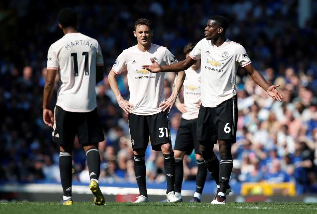 Manchester United's players were slammed by Gary Neville following a heavy defeat at Everton