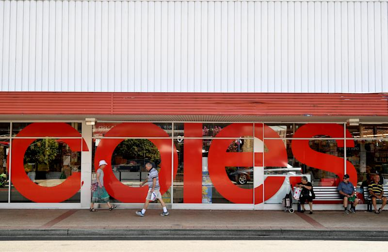A shopper claims Coles is wasting plastic with its unattended delivery service. Source: AAP