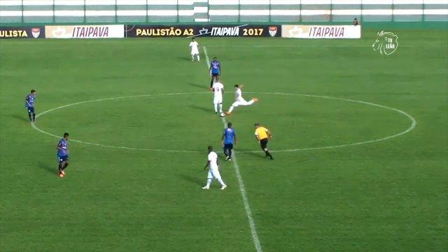 Brazilian player scores direct from kick-off