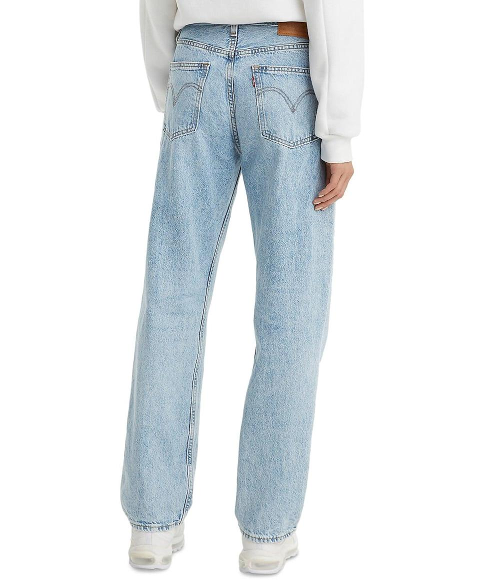 <p>How cool are these <span>Levi's Cotton Straight-Leg Dad Jeans</span> ($98)? They also come in a dark grey wash as well.</p>