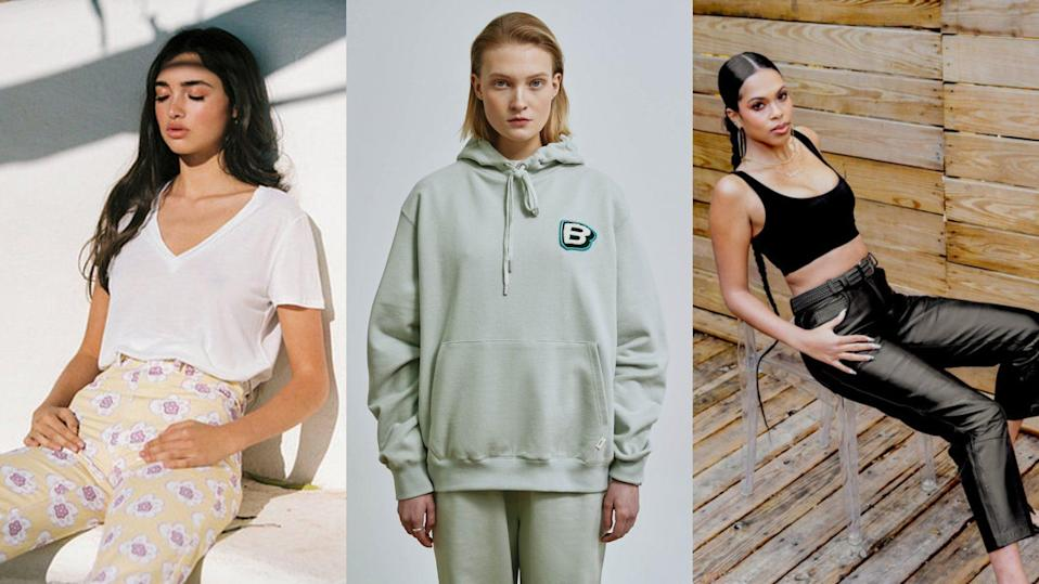 Emerging fashion brands
