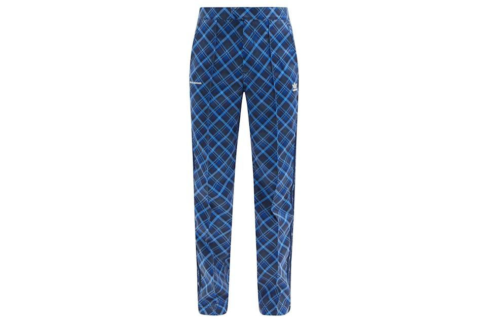 """$330, Matches Fashion. <a href=""""https://www.matchesfashion.com/us/products/Adidas-X-Wales-Bonner-Tartan-print-twill-trousers-1398473"""" rel=""""nofollow noopener"""" target=""""_blank"""" data-ylk=""""slk:Get it now!"""" class=""""link rapid-noclick-resp"""">Get it now!</a>"""