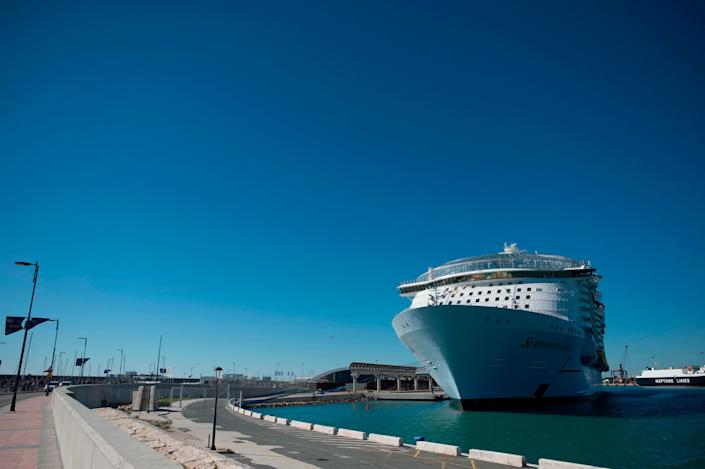 Royal Caribbean's Symphony of the Seas was one of the ships forced to make itinerary changes to avoid Hurricane Dorian.