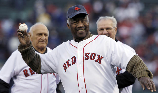 "Elijah ""Pumpsie"" Green, the first black player to play for the <a class=""link rapid-noclick-resp"" href=""/mlb/teams/boston/"" data-ylk=""slk:Boston Red Sox"">Boston Red Sox</a>, died on Wednesday. He was 85. (AP)"