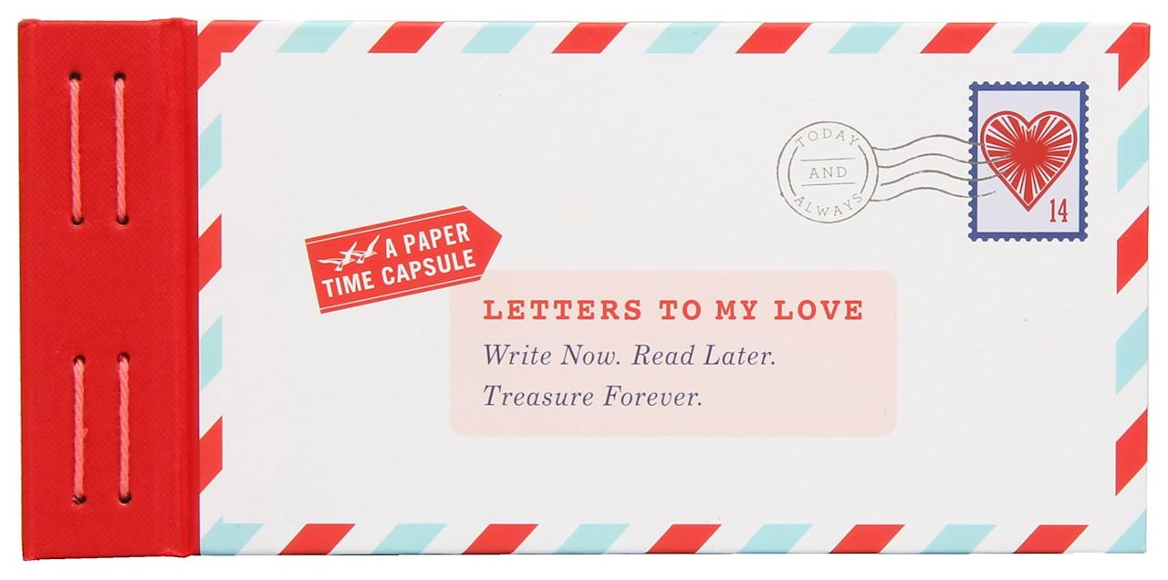 """<p>""""Write now. Read later. Treasure forever."""" This sweet keepsake <a href=""""https://www.popsugar.com/buy/book-369789?p_name=book&retailer=amazon.com&pid=369789&price=6&evar1=tres%3Aus&evar9=21503586&evar98=https%3A%2F%2Fwww.popsugar.com%2Flove%2Fphoto-gallery%2F21503586%2Fimage%2F36483104%2FLetters-Read-When-He-Misses-You&list1=dating%2Cshopping%2Choliday%2Cgift%20guide%2Crelationships%2Clong%20distance%20relationships%2Cvalentines%20day%2Cgifts%20for%20men%2Cgifts%20under%20%2475&prop13=mobile&pdata=1"""" rel=""""nofollow"""" data-shoppable-link=""""1"""" target=""""_blank"""" class=""""ga-track"""" data-ga-category=""""Related"""" data-ga-label=""""https://www.amazon.com/Letters-My-Love-Treasure-Forever/dp/145214267X"""" data-ga-action=""""In-Line Links"""">book</a> ($6) comes with 12 blank fold-and-mail letters for you to fill and for him to open whenever the distance gets too tough.</p>"""