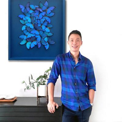 Insect Artist Tak Hau, creator of Insectism.com