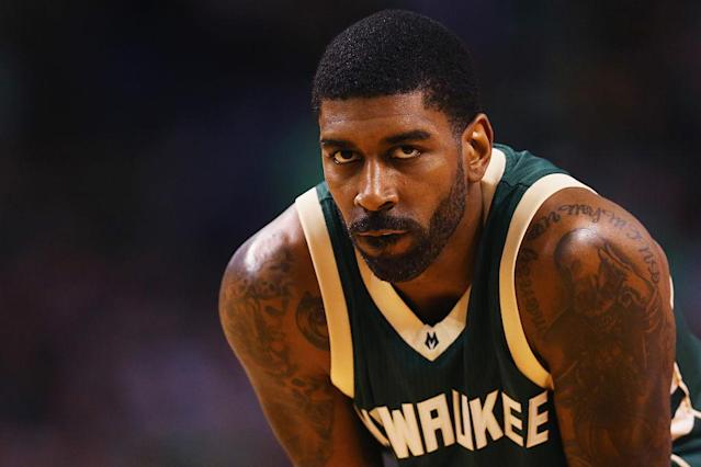 "<a class=""link rapid-noclick-resp"" href=""/nba/players/4389/"" data-ylk=""slk:O.J. Mayo"">O.J. Mayo</a> will be eligible to apply for reinstatement to the NBA in two years. (Maddie Meyer/Getty Images)"