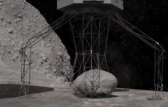 Incredible Technology: How to Grab an Asteroid and Park It Near Earth