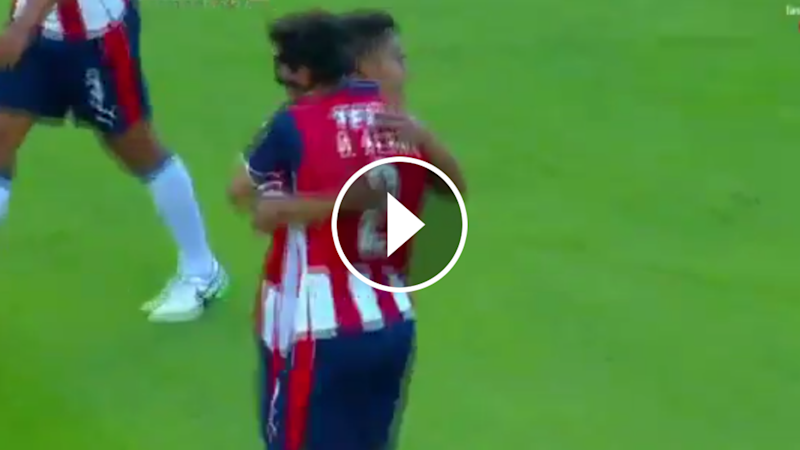 VIDEO: La espectacular anotación de Oswaldo Alanís vs Cruz Azul