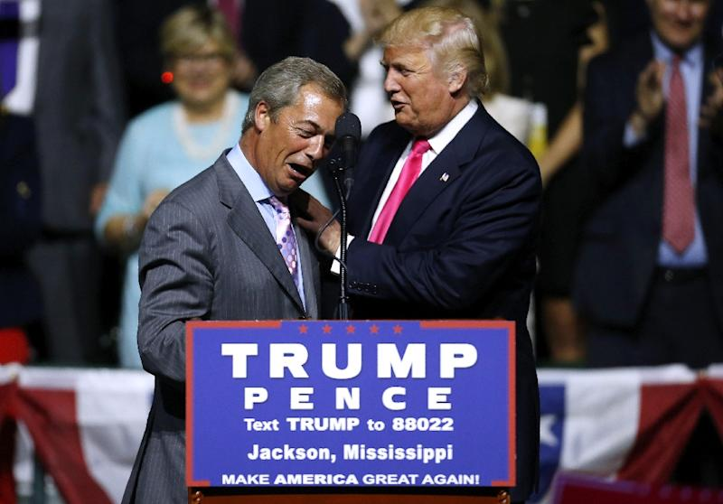 Nigel Farage on Trump Meeting: 'He Was Relaxed and Full of Ideas'