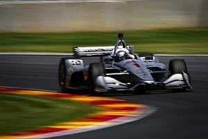 Josef Newgarden and Will Power defeated Andretti Autosport in a head-to-head shootout for a Penske one-two in qualifying for IndyCar's Road America race