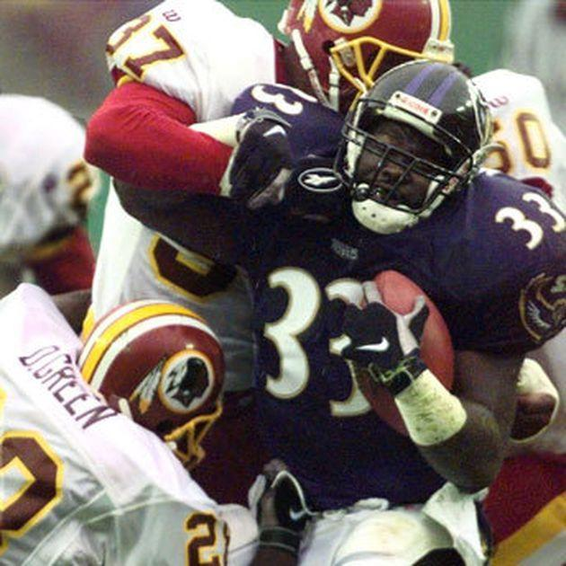 This Week in Baltimore Sports History: Bam Morris helps Ravens grind out a win over Redskins