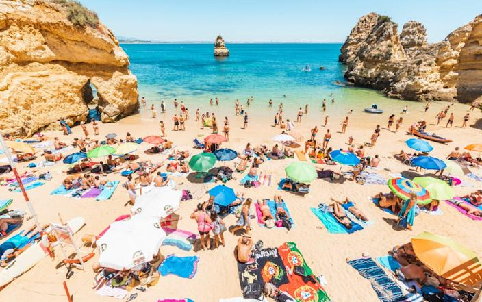 UK tourists wil be returning to beaches in Portugal next week - Marco Bottigelli