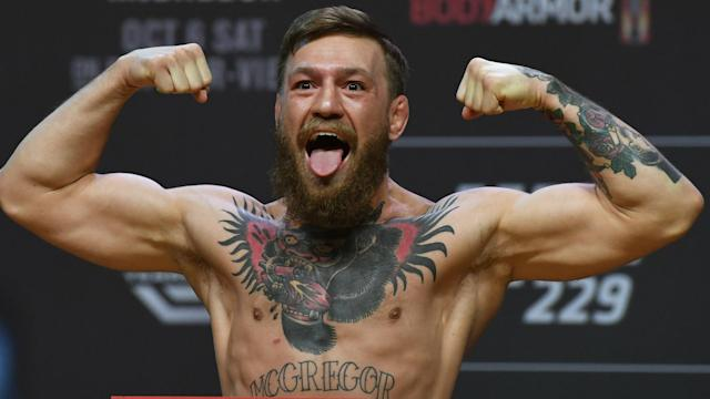 Dana White has relayed positive reports on Conor McGregor's condition ahead of the Irishman's UFC return this weekend.