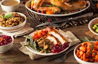 """<p>According to Food Allergy Research& Education (FARE), some of the most common allergies include cow's milk, eggs, peanuts, tree nuts, wheat, soy, fish, shellfish and sesame. Several of these are integral ingredients in Thanksgiving dishes. For instance, dairy is typically found in mashed potatoes, casseroles and <a href=""""https://www.thedailymeal.com/best-holiday-pies-recipes?referrer=yahoo&category=beauty_food&include_utm=1&utm_medium=referral&utm_source=yahoo&utm_campaign=feed"""" rel=""""nofollow noopener"""" target=""""_blank"""" data-ylk=""""slk:pies"""" class=""""link rapid-noclick-resp"""">pies</a>. Even turkeys can be basted in butter and thus are not dairy-friendly. Peanuts, tree nuts and shellfish can even be hiding in your meal, as some cooks are known to incorporate nuts and oysters into stuffing and gravy. Wheat (typically in the form of flour) is also prevalent at Thanksgiving and is used in stuffing, gravy, casseroles, rolls and pies. To have an allergy-friendly Thanksgiving, call your host and inform them of any allergies ahead of time. If you're worried you won't have anything to eat, offer to bring an allergen-free side dish (such as roasted vegetables or gluten-, dairy- and nut-free stuffing) to dinner.</p>"""